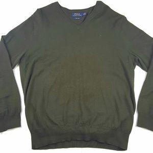Polo Ralph Lauren V-Neck Long Sleeve Sweater